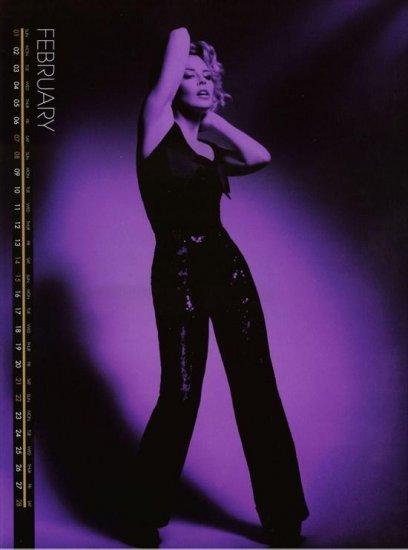 Календарь Кайли Миноуг (Kylie Minogue) на 2009 год