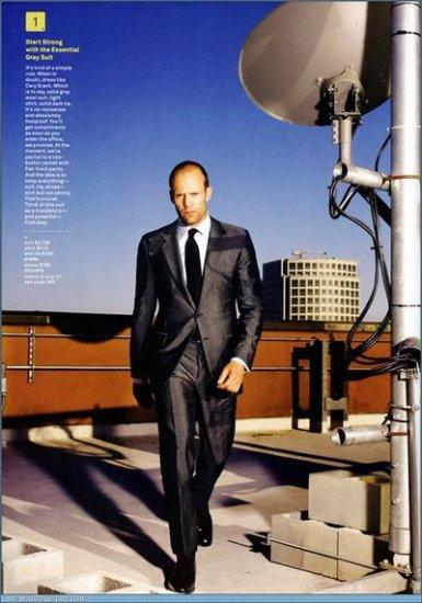 Джейсон Стэтэм (Jason Statham) в фотосъемке GQ