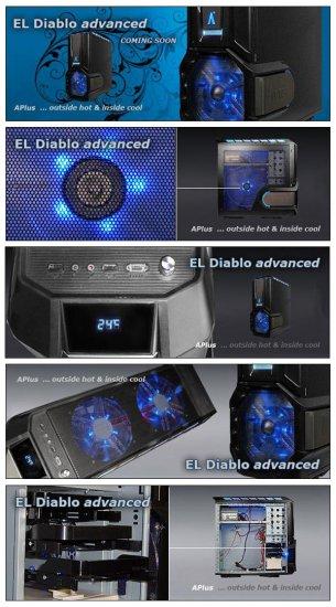 Корпус APlus EL Diablo Advanced прохладен и чертовски красив