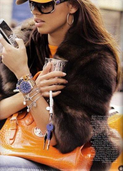 Французский Vogue: Адриана Лима