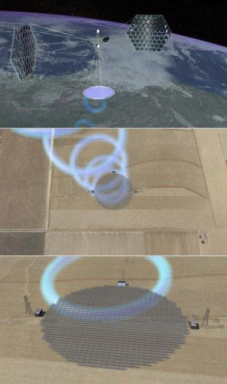Космические электростанции дразнят землян огромной энергией