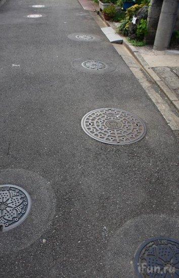 Необычная японская улица