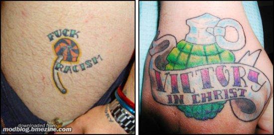 Old school tatoo. Part II