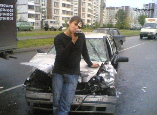Не стоит фотографировать свое авто