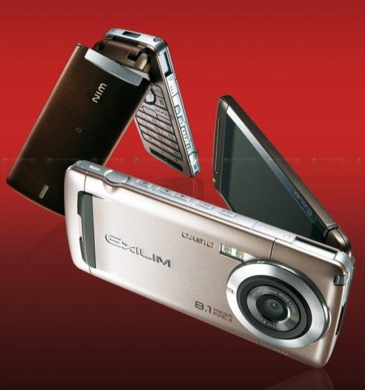 Casio представила 8-мегапиксельный камерофон