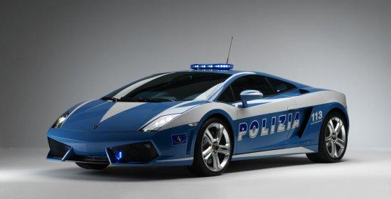 Lamborghini Gallardo LP560-4 Polizia 2009
