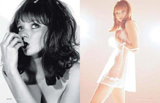 Лили Коул (Lily Cole) в октябрьском журнале Playboy