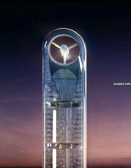 Anara Tower – один из самых впечатляющих небоскребов