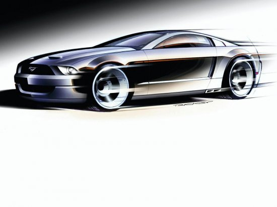 Далеко не класика FORD MUSTANG GT CONCEPT 1600*1200