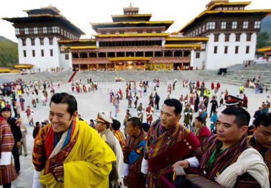 Самый молодой монарх взошел на престол Бутана