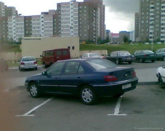 Я паркуюсь, как... получается