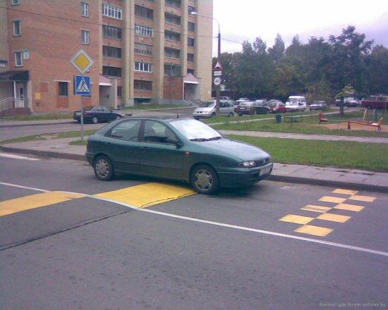 Я паркуюсь, как... получается-3