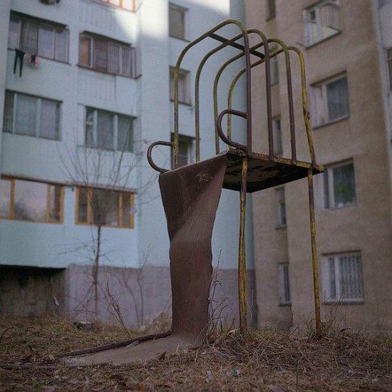 Старые детские площадки