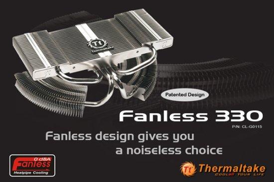 Официальные подробности о VGA-кулере Thermaltake Fanless 330