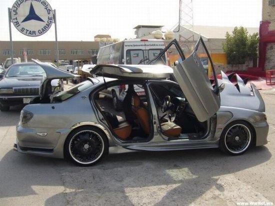 Тюнинг по-арабски - как из Nissan Maxima сделать BMW