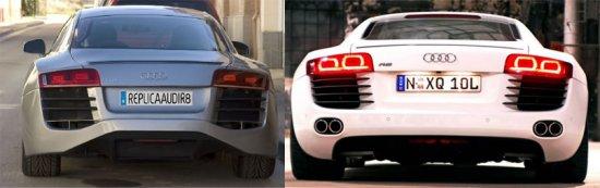 Испанец построил Audi R8 из Mercury Cougar