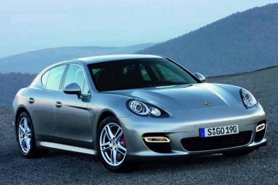 Porsche Panamera. Официальные ФОТО