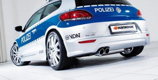 Очередной полицейский шоукар будет представлен на мотошоу в Эссене