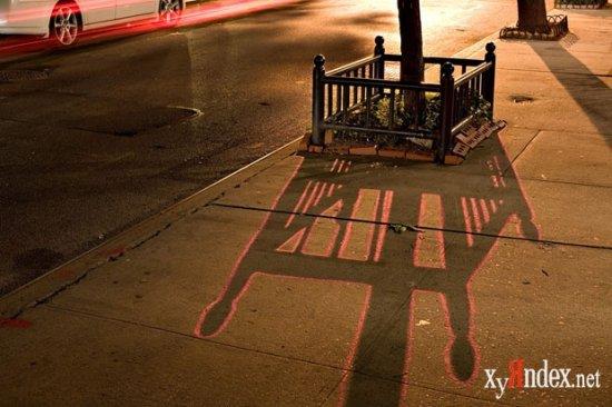 Теневые граффити