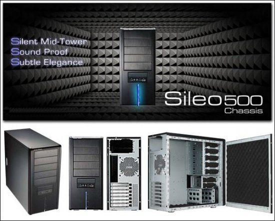 Высококлассный тихий корпус Cooler Master Sileo 500