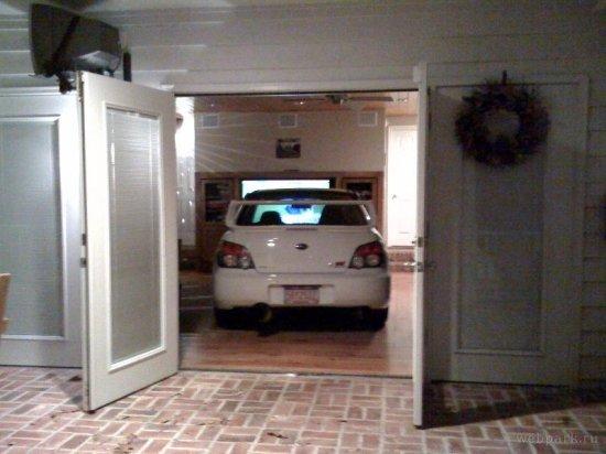 Когда нет гаража
