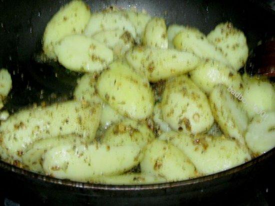 Картошка c лимоном ( в дальневосточном стиле)