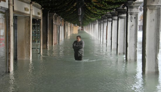 Винеция под водой