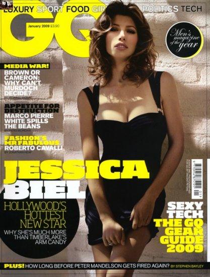 Джессика Бил (Jessica Biel) в январском номере GQ