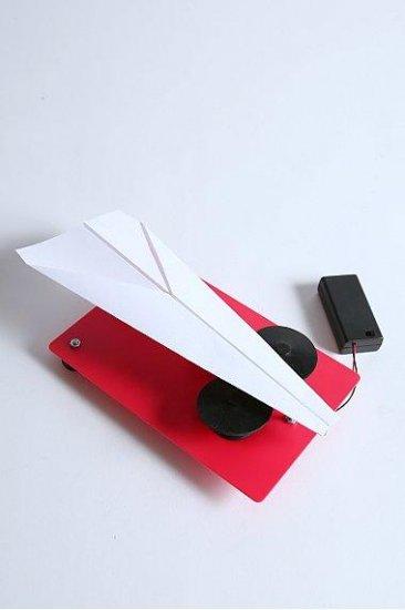 Мини-установка для запуска бумажных самолетиков
