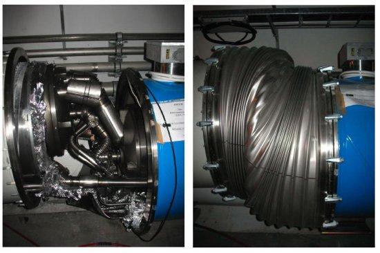 CERN опубликовал фотографии повреждений Большого адронного коллайдера