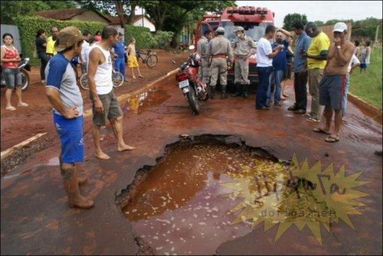 Ужасы бразильских дорог