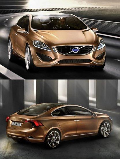 Компания Volvo показала своё новое видение седана S60