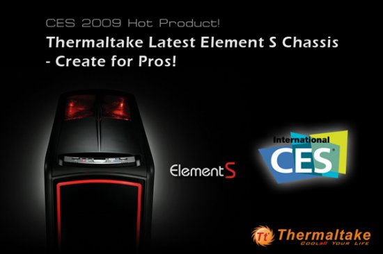 Корпус Thermaltake Element S: сделано для профессионалов!