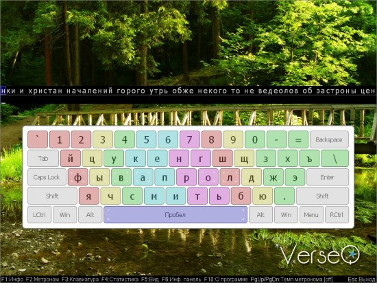 VerseQ.2008.7.3.202 - клавиатурный тренажер