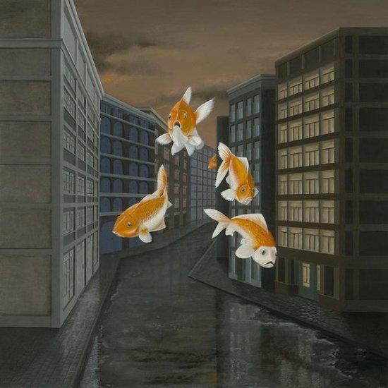 Необычные картины художницы Patricia van Lubeck