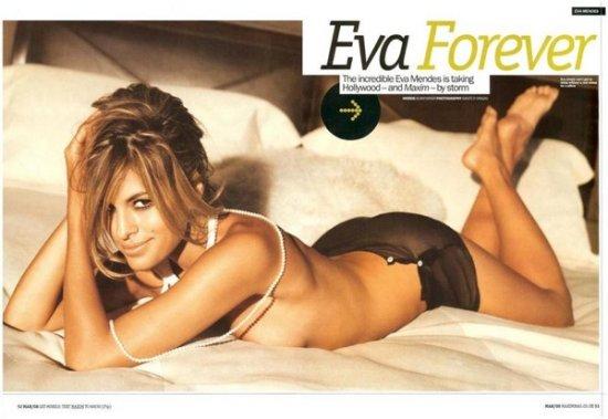 Ева Мендес - самая желанная женщина 2009 года