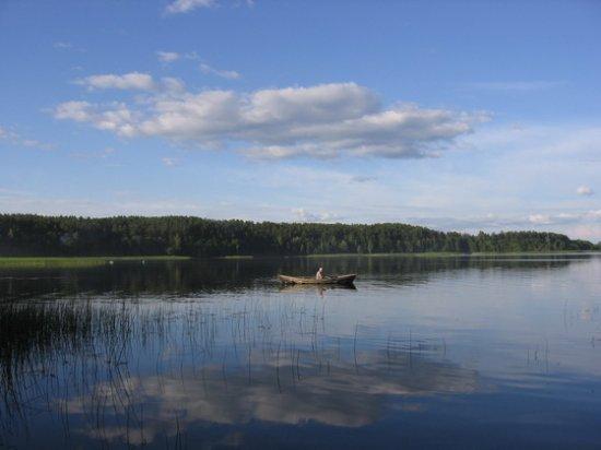 Браслав, озеро Струста