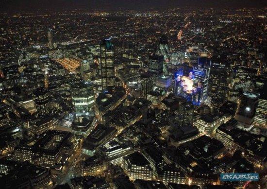 The night London