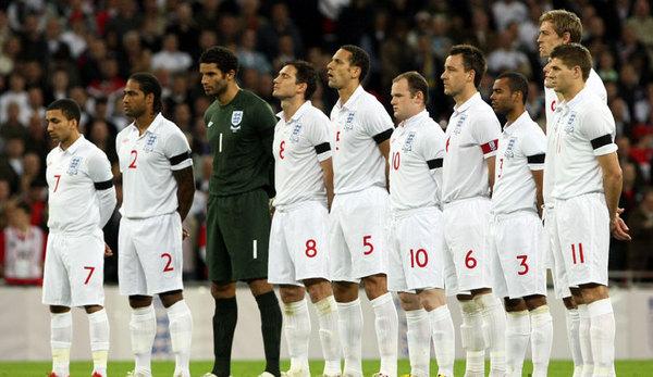 Сборная англии по футболу состав 2010
