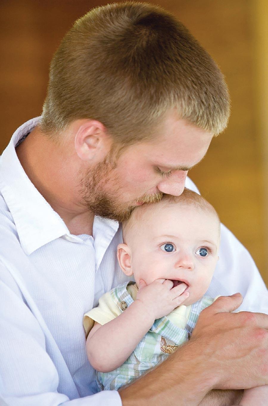 Фото папа с ребенок