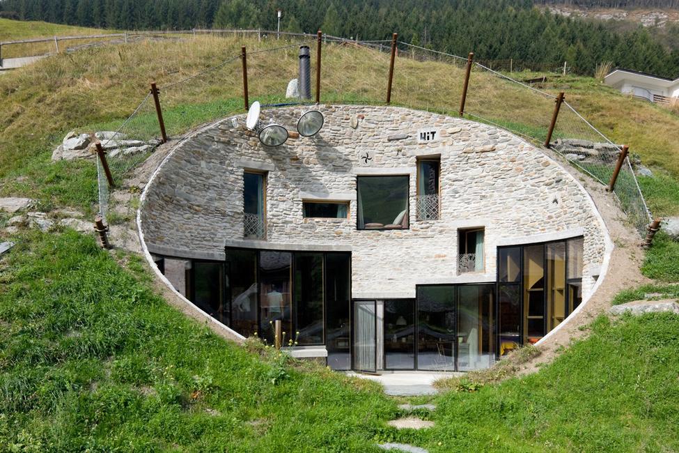 Дом под землёй своими руками